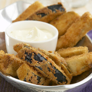 Deep-Fried Eggplant with Aioli