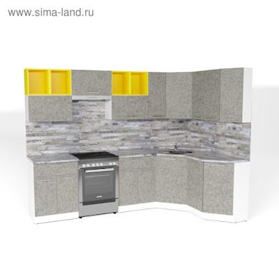Кухонный гарнитур Валерия оптима 5 2700*1600 мм