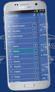 Blueprint playerpro theme android apps on google play blueprint playerpro theme screenshot thumbnail malvernweather Gallery