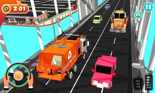 Urban Garbage Truck Driving - Waste Transporter 1 screenshots 3