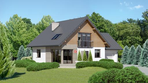 projekt Dom przy Cyprysowej 47
