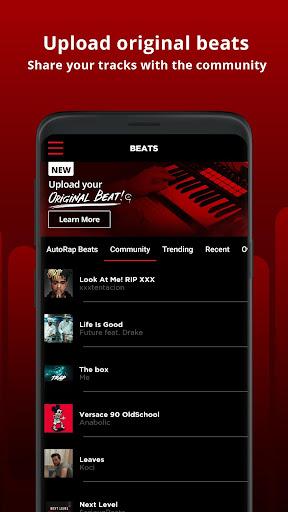AutoRap by Smule – Make Raps on Cool Beats screenshot 3