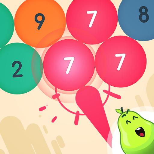 WHAT ( bubbles ) - Aim, shoot & pop the bubbles! Icon