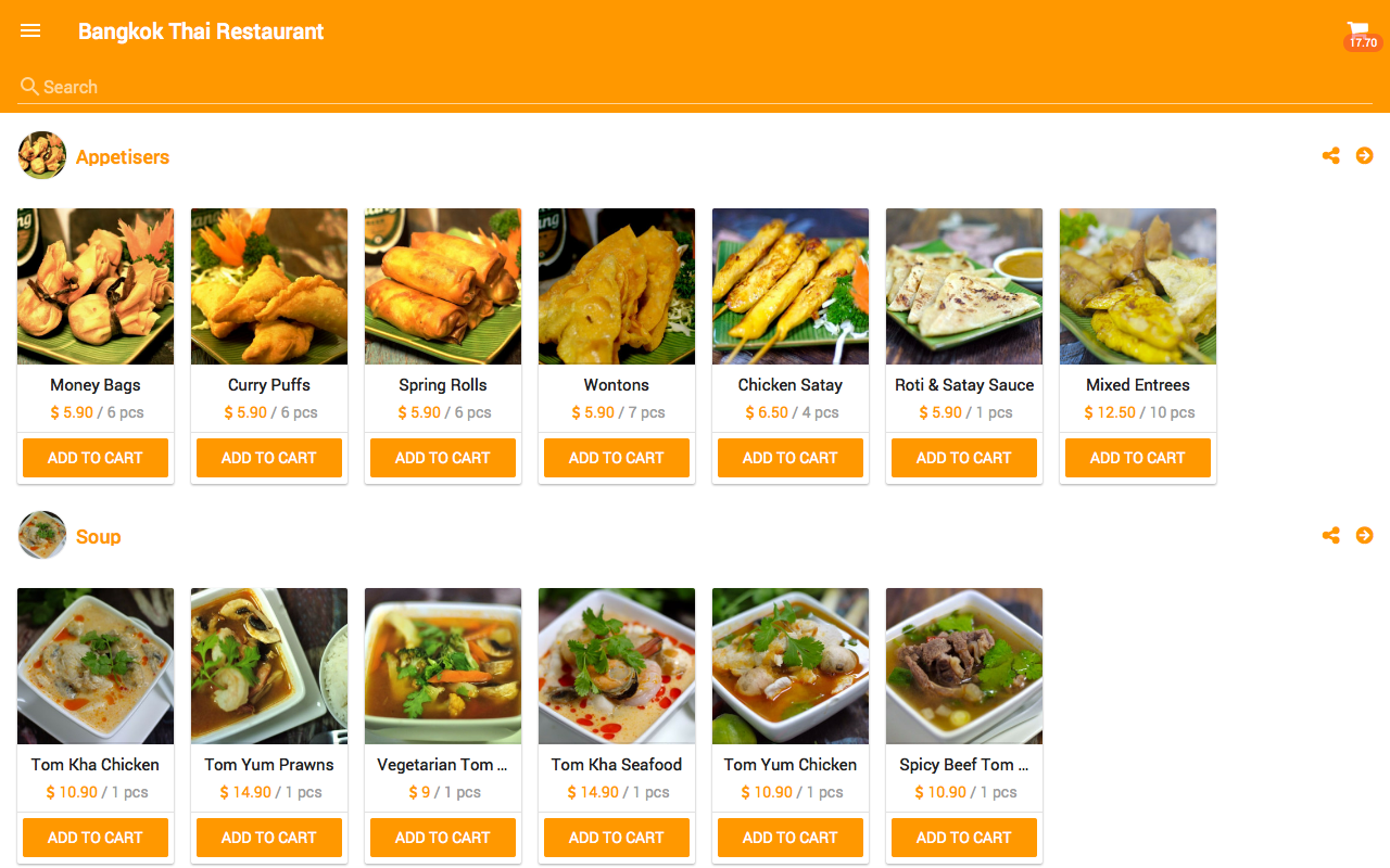 BKK Thai Palmerston North- screenshot
