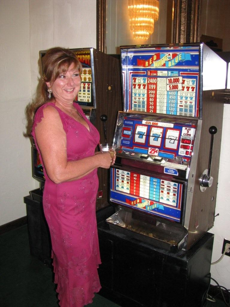Photo: Slots at the CASA fundraiser - Lucky Linda's Casino Party Events
