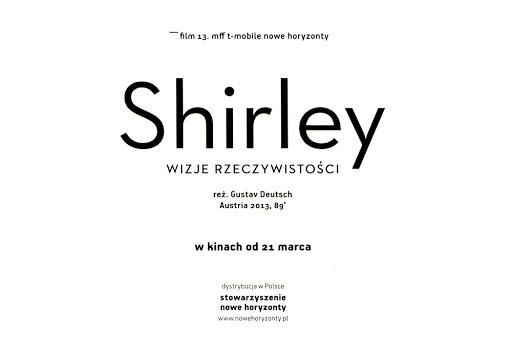 Tył ulotki filmu 'Shirley - Wizje Rzeczywistości'