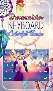 Dreamcatcher Keyboard Colorful Theme - náhled