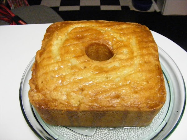 GLAZE:  In a sause pan combine 1 cup sugar 1/2 cup water and 1...