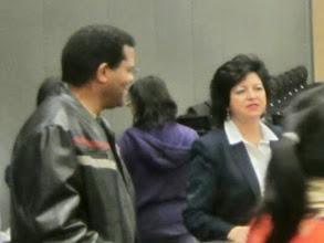 Photo: Dr. Anthony Iton & Leticia Alejandrez, The California Endowment