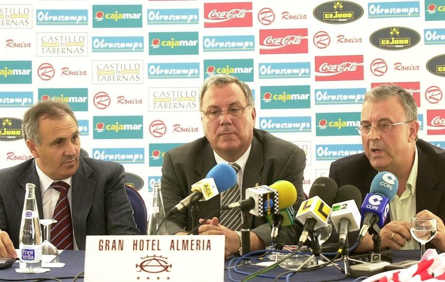 Manolo García se integró en el equipo de Alfonso.
