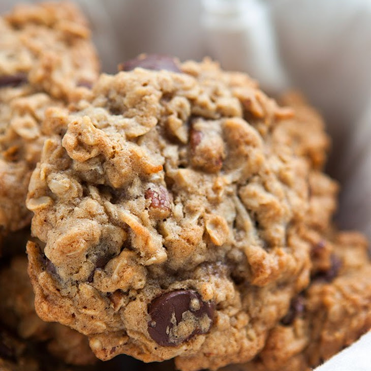 Browned Butter Oatmeal Chocolate Chip Cookie