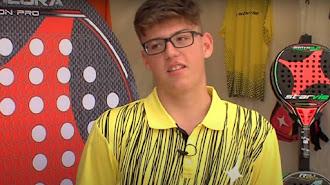 El pádel llora la muerte de Alex Gama a los 17 años.