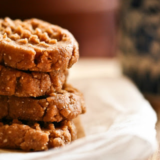 Cacao Dusted Peanut Butter Cookies