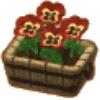 あかきいろパンジー(家具)