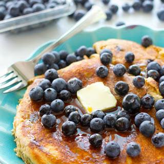 One Big Blueberry Buttermilk Pancake