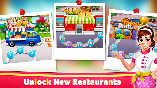 Indian Cooking Star: Chef Restaurant Cooking Games apkpoly screenshots 6
