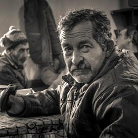 Portrait by Murat Besbudak - People Portraits of Men