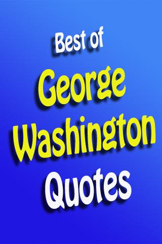Top George Washington Quotes