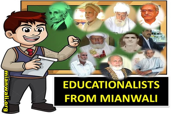 EDUCATIONALISTS FROM MIANWALI