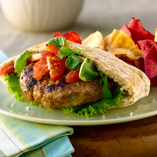 Zesty Chicken Burgers