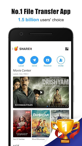 SHAREit - Transfer & Share screenshot 1