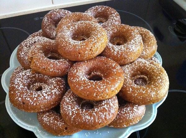 Baked Pumpkin Spice Donuts Recipe