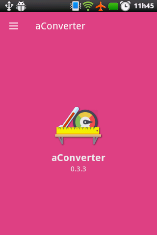 aConverter- screenshot