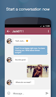 Screenshot of JAUMO Flirt Chat