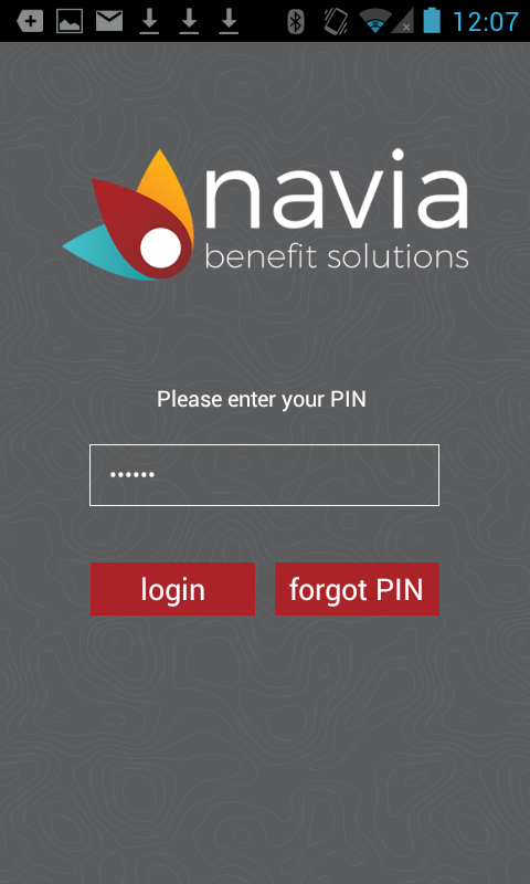 MyNavia Benefits App- screenshot