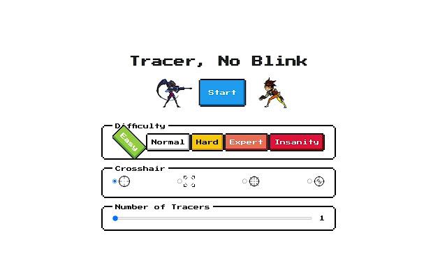 Tracer, No Blink