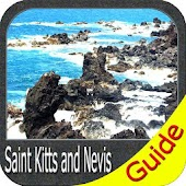 Saint Kitts and Nevis GPS Map Navigatore