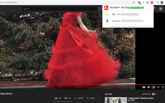 YouTube™ Ad Skip