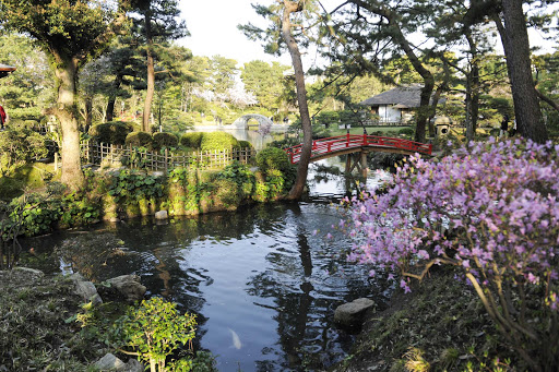 Shukkei-en is a historic Japanese garden in the city of Hiroshima, Japan.