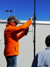 Photo: Bruce tweaking his Buddipole