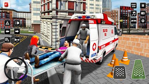 Heli Ambulance Simulator 2020: 3D Flying car games 1.12 screenshots 3