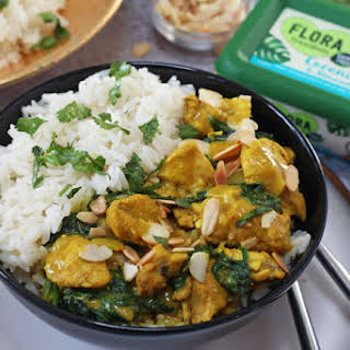 Coconut Almond Chicken Curry Recipes.