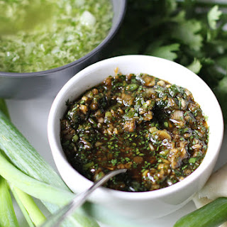 Soy & Ginger Dipping Sauce.