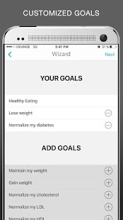 DietSensor food tracking- screenshot thumbnail