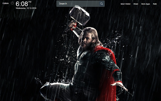 Thor The Dark World Wallpapers Theme New Tab