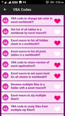 VBA Tricks and Tips - screenshot