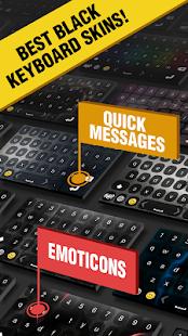 Black Keyboards Themes - náhled