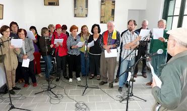 Photo: Séance de répétition pour les Choeurs dirigés par Tony