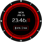 Colors Mask Facer for Moto 360