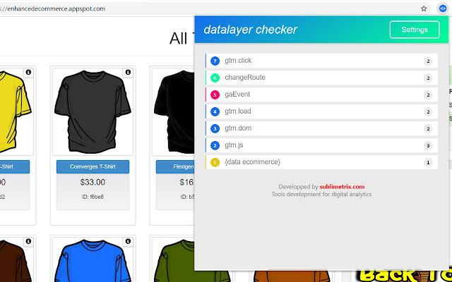 Datalayer Checker