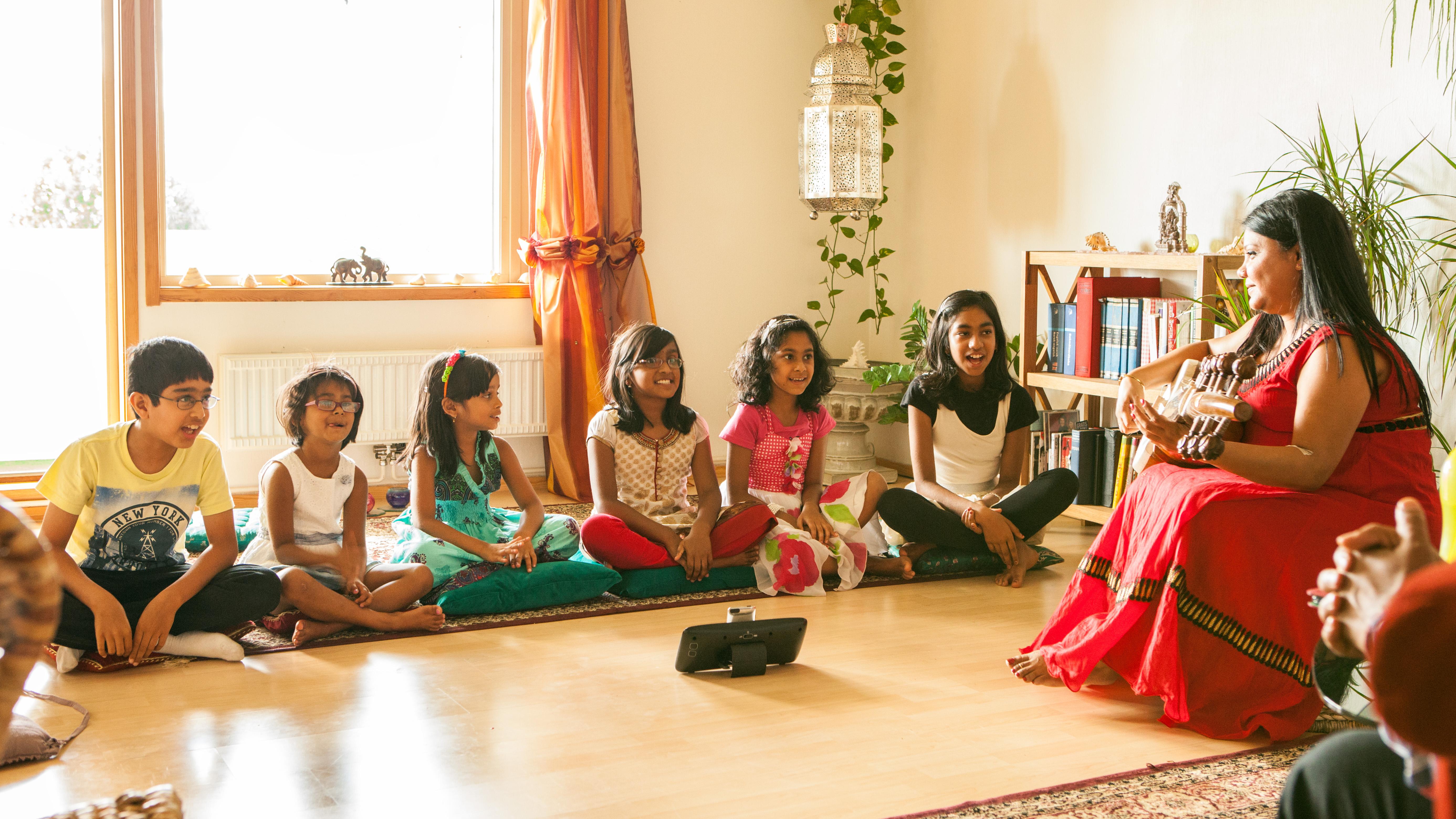 Photo: Sudeshna Sarod Academy - Ending summer workshop 2014 - sabPHOTO