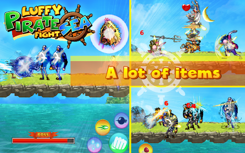 Luffy Pirate Sea Fight- screenshot thumbnail