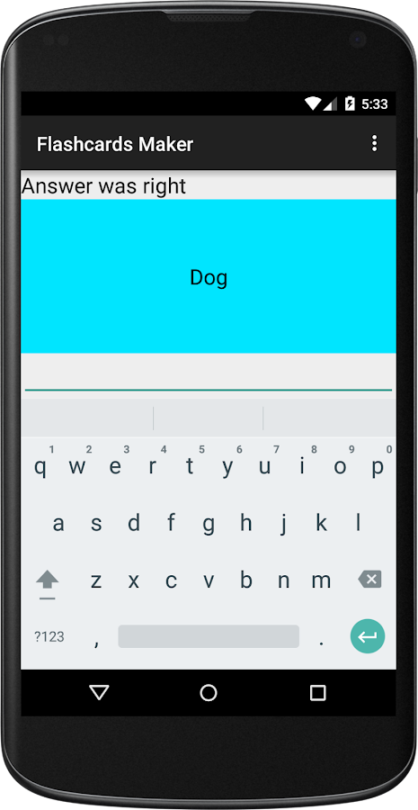 Flashcards Maker- screenshot