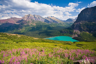 Photo: Lower Grinell Lake, Glacier National Park, MT