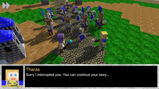 Blocky Story: War Craft  captures d'écran 2
