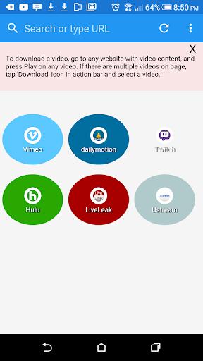 Extreme Video Downloader  screenshots 1